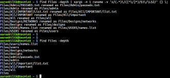 How to Rename Files in Linux and also Directories in Linux?