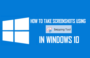 How to Use Snipping Tool to Take a Screenshot on Windows?